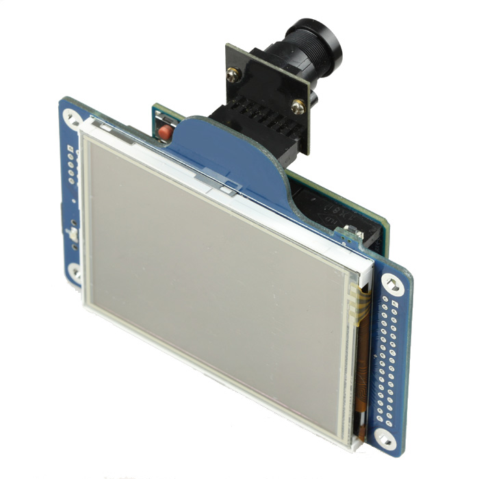 Arduino camera shield based