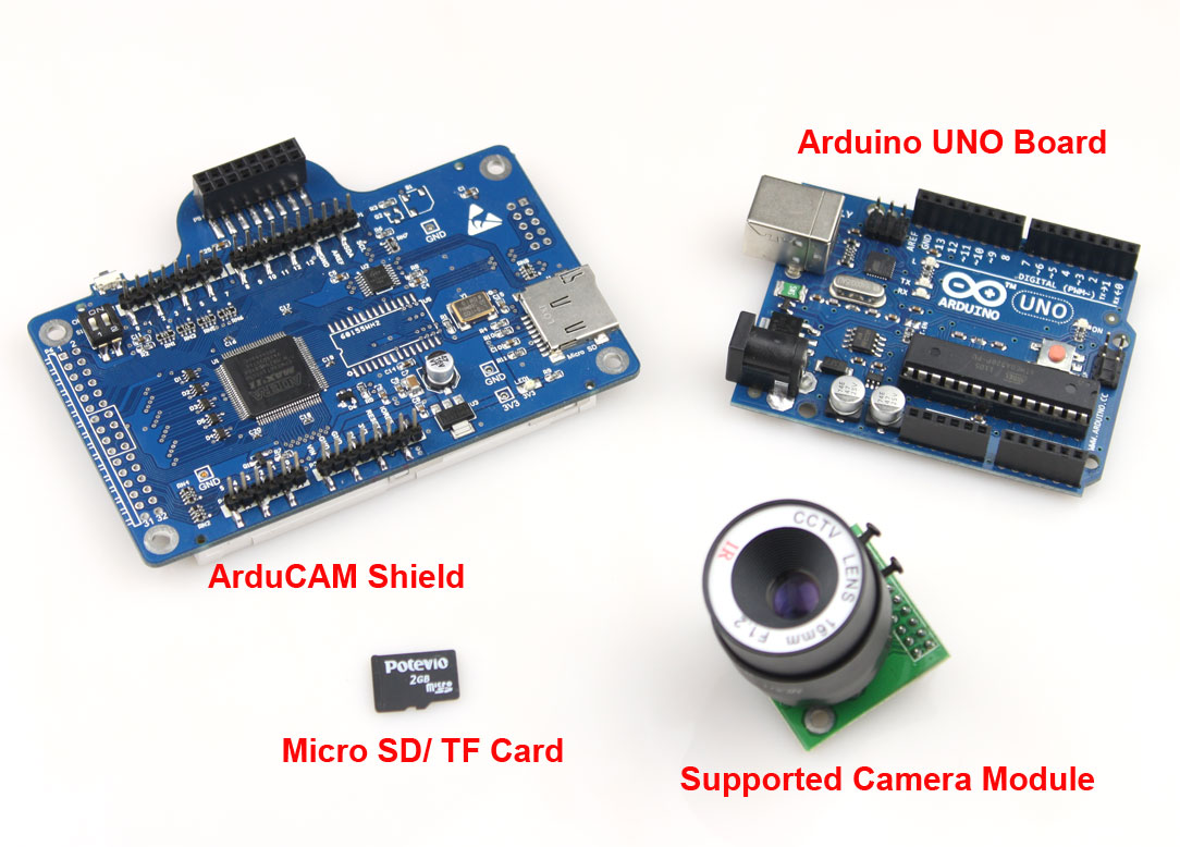 Tutorial arduino based camera
