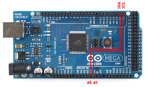 How to connect ArduCAM shield to MEGA 2560