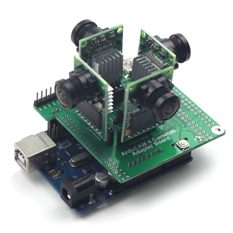 Arducam mini multicam adapter arduino based camera
