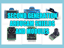 Second Generation ArduCAM Shields and Modules