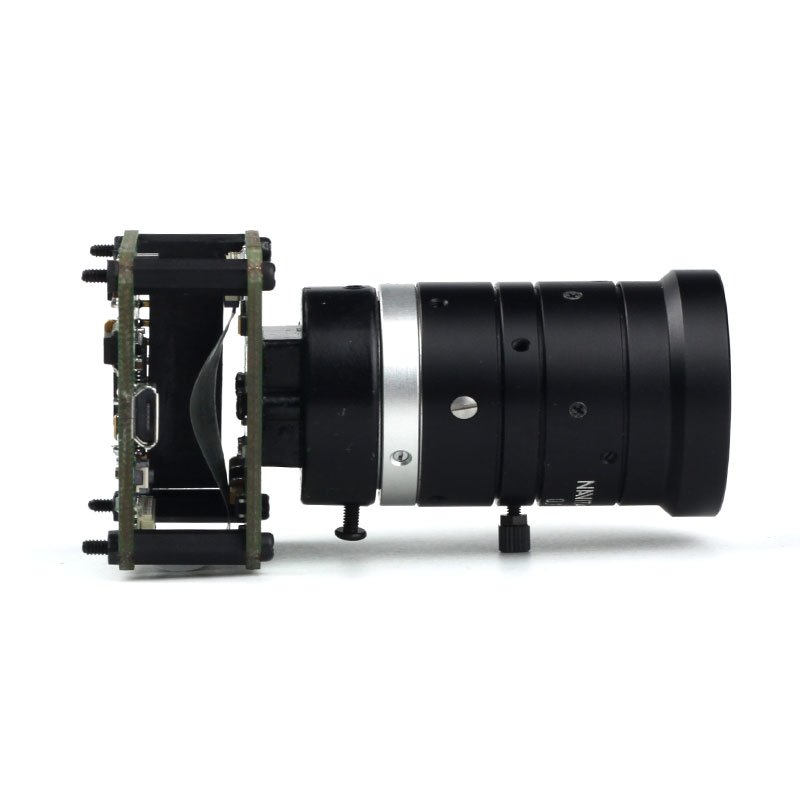 USB Camera Shield with a huge CS mount lens