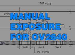 Manual Exposure for OV2640
