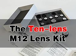 Arducam M12 Mount Lens Kit for Raspberry Pi and Arduino Cameras