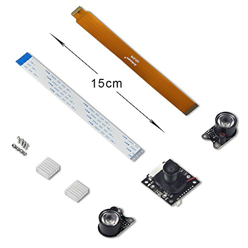 15cm 1080p camera module board 5mp webcam video for raspberry pi 2//3 XR