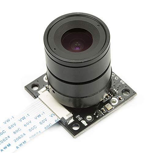 5 Million Pixels Night Vision 130/° Viewing Angle Camera Module Board Module Raspberry Pi B 3//2 Camera Module Board