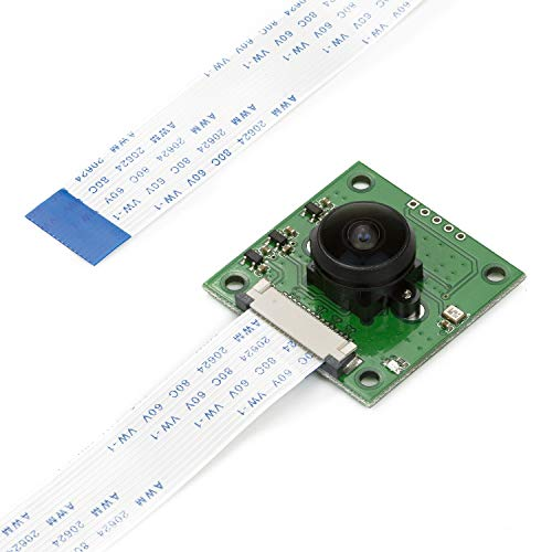 ASHATA 5MP Night Vision Camera Module Camera Lens for Raspberry Pi Zero with 2 Pieces Fill Lights PC DIY Tools Replacement Parts