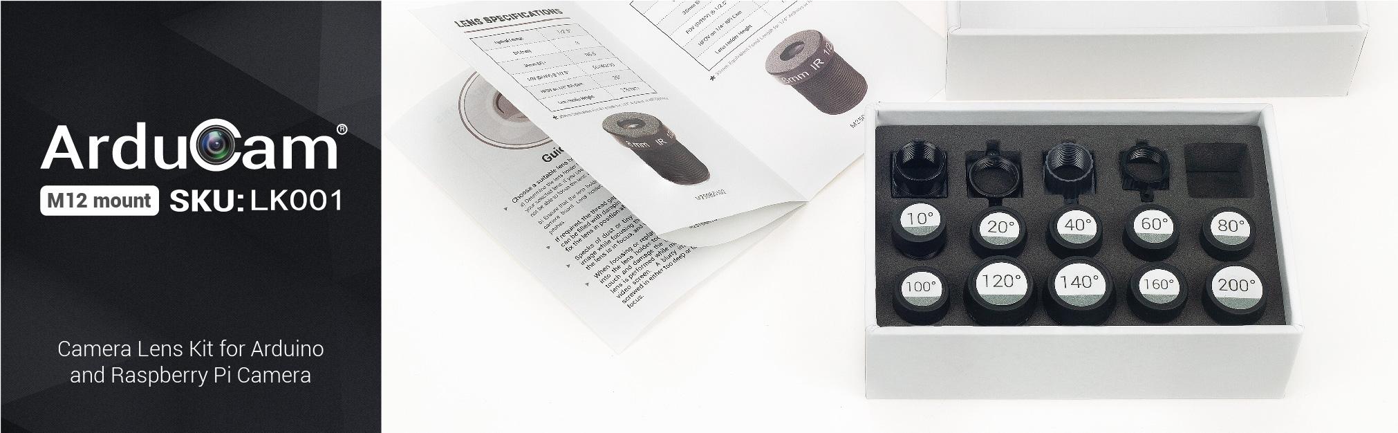 M12 Lens Kit Angles