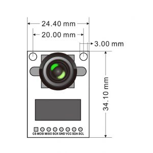 Image result for Arducam Mini module Camera Shield w/ 5 MP OV5642 for Arduino UNO Mega2560 board