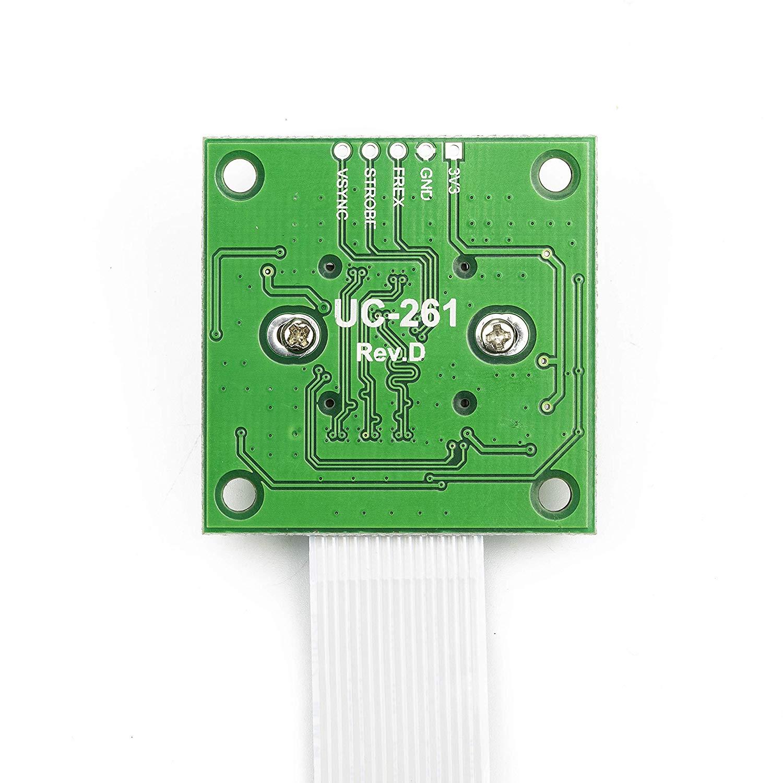 Arducam OV5647 Camera Board with LS-40180 Fisheye Lens