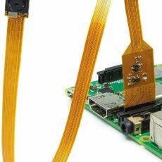 [B0066-02] Arducam NoIR Spy Camera for Raspberry Pi - Miniature 6mm Neck Width with Flex Cable, 5MP OV5647 1/4 Inch Sensor, Support Raspberry Pi A/B/B+/2/3/3B+/4 1-1