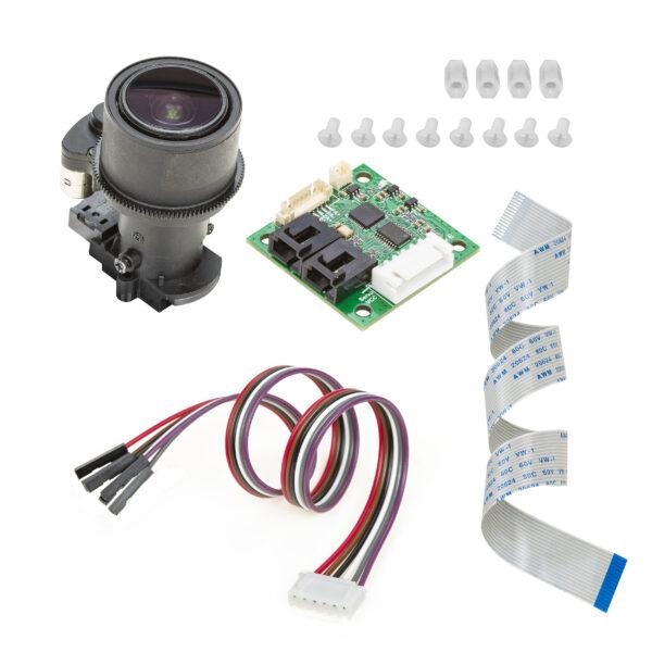 PTZ Camera Module for Raspberry Pi with Autofocus Control