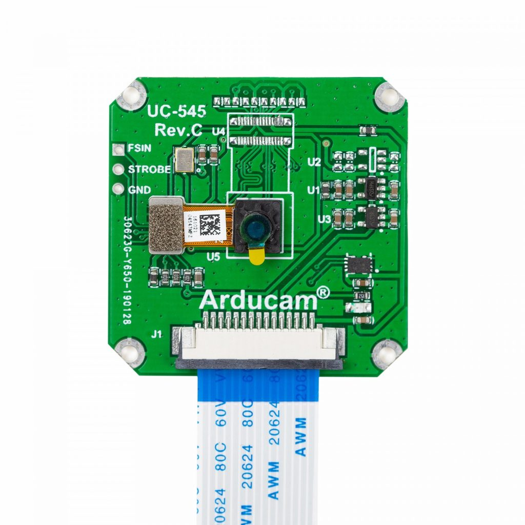 [B0161] Arducam OV7251 MIPI 0.31MP Monochrome Global Shutter Camera Module for Raspberry Pi 2
