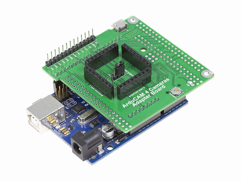 Multi-Camera Adapter Board For Arduino - Camera solutions