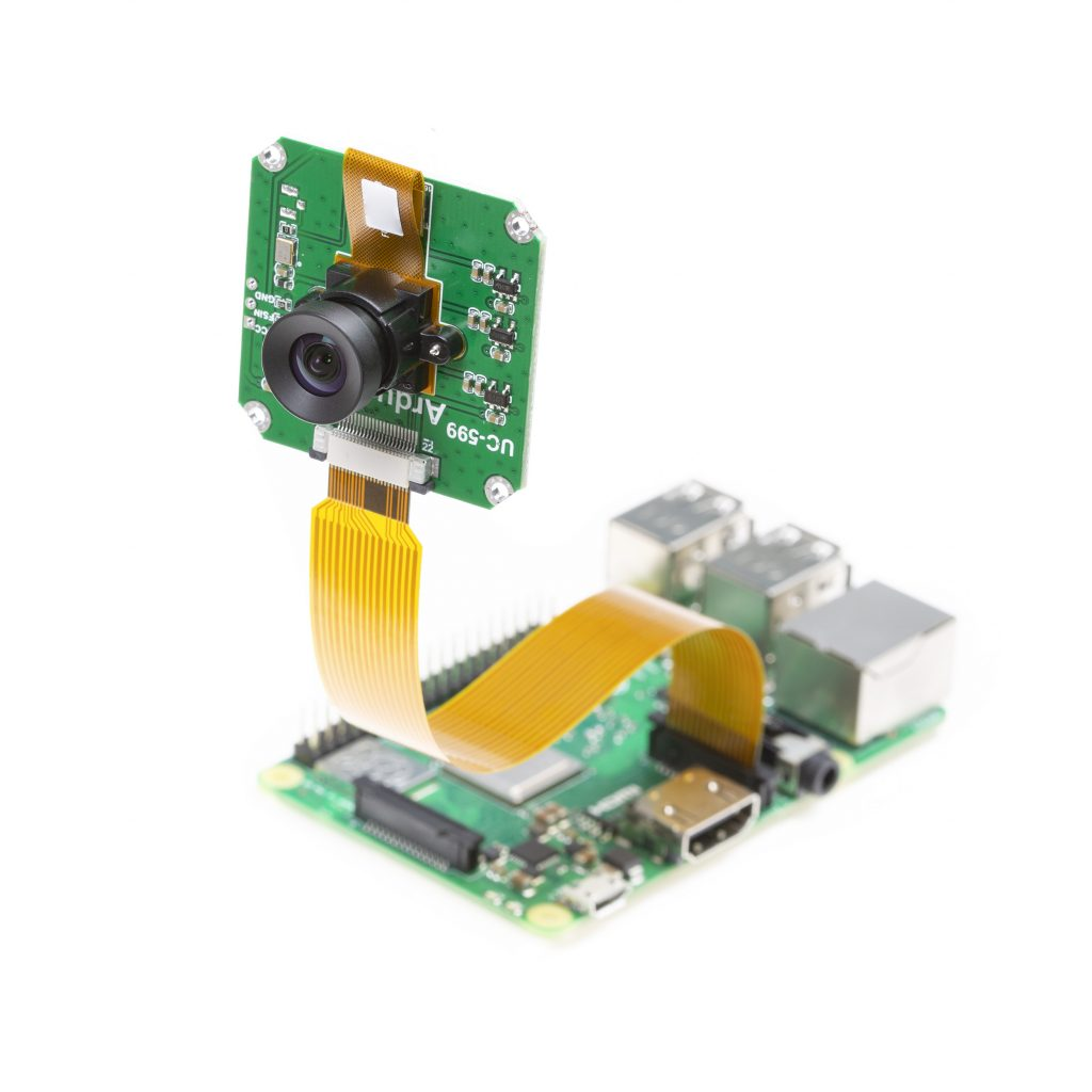 AR1820 18MP Color Rolling Shutter Camera for Raspberry Pi