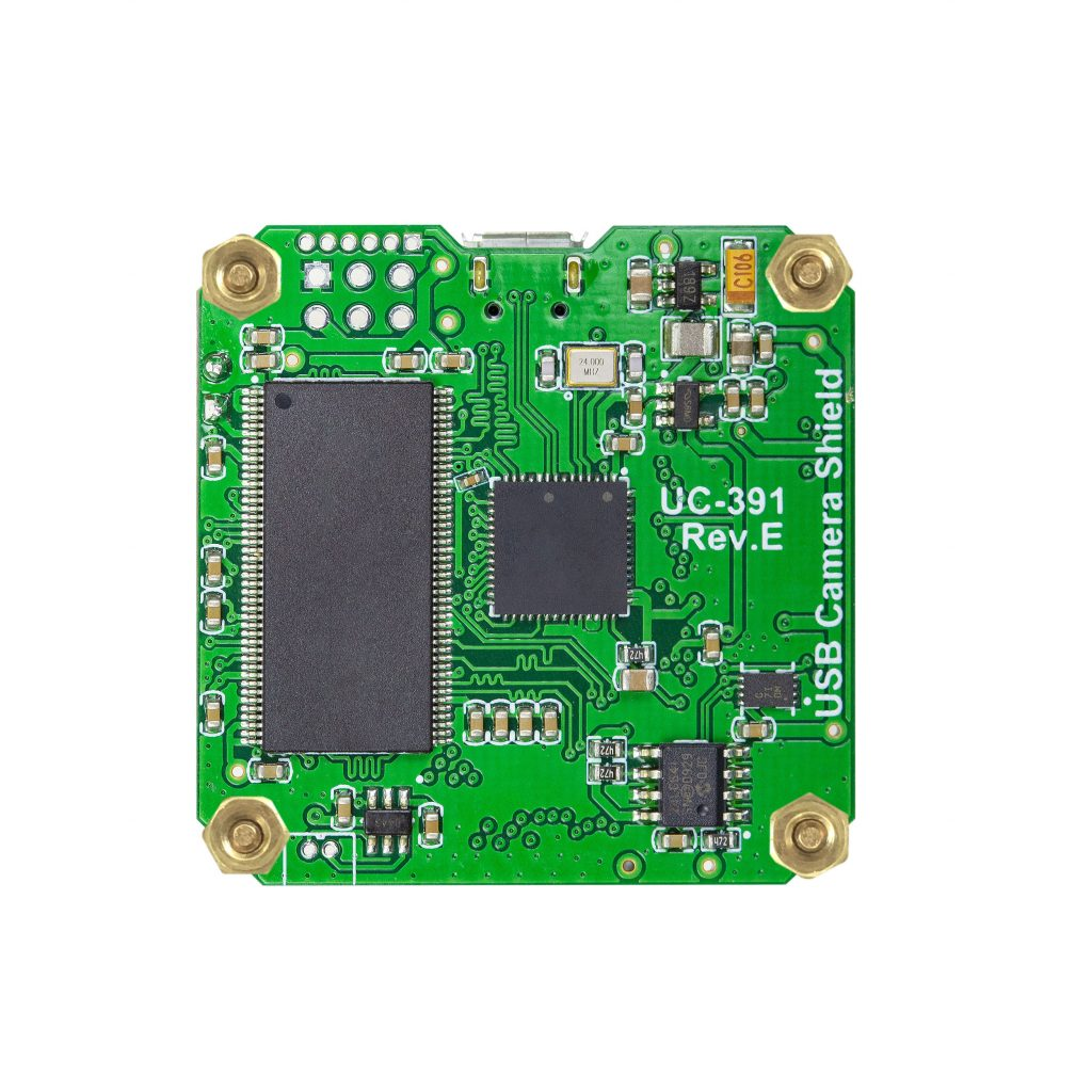 B0175 arducam usb camera shield rev e back