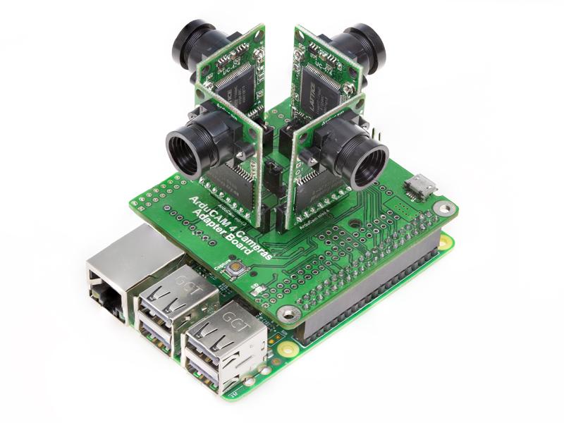 RPI_SPI_2 Multi-Camera Adapter Board for SPI Camera
