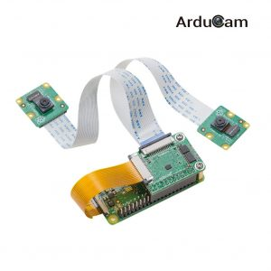 arducam stero camera dual multiplexer connect 2 8mp raspberry pi-2