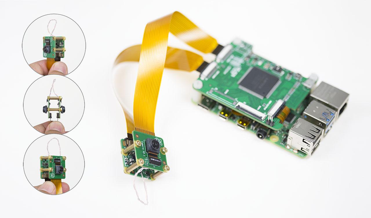 3D Video Cameras for Raspberry Pi 4B/3b+/3