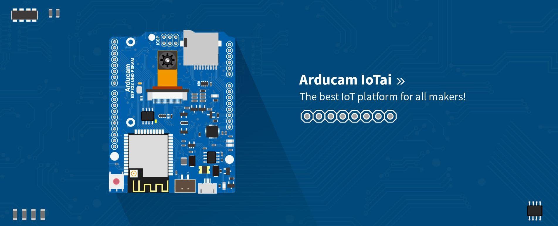 arducam-esp-32-iotai-development-board-banner