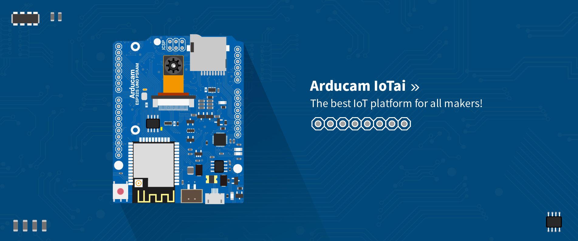 Arducam - Arduino SPI cameras, modules for Raspberry Pi and