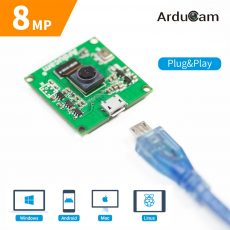 Arducam 8mp imx219 usb 2 uvc camera module compatibilities