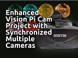 Raspberry Pi Stereo Camera Based Enhanced Vision Project with Synchronized Multiple Cameras