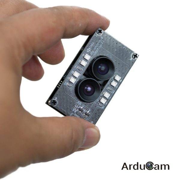 arducam stereo usb 2 uvc camera dual ir in hand