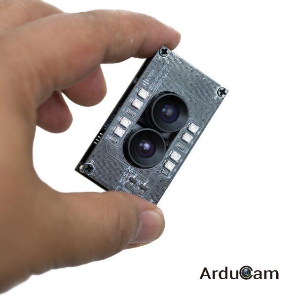 arducam stereo usb 2 uvc camera dual ir in hand