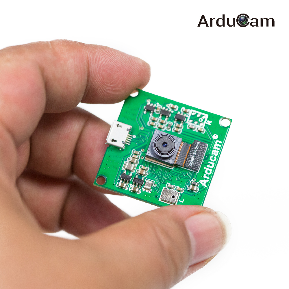 Arducam 8mp imx219 usb 2 uvc camera module in hand