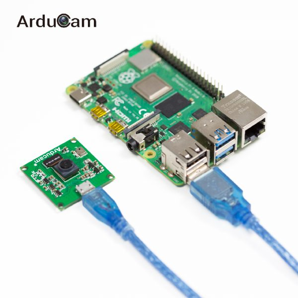Arducam 8mp imx219 usb 2 uvc camera module With Raspberry Pi