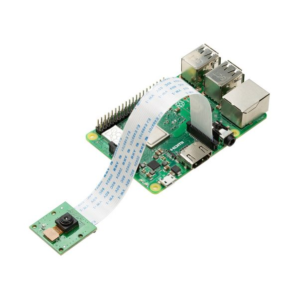 Arducam 5MP OV5647 1080P Noir Camera for Raspberry Pi, Infrared Camera Module Sensitive to IR Light connects to Raspberry Pi
