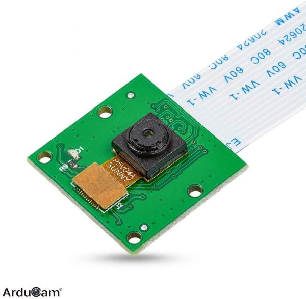 [B0033C] Arducam 5MP 1080P Camera Module with Case, for Raspberry Pi 3, 3 B+ and More 1-1