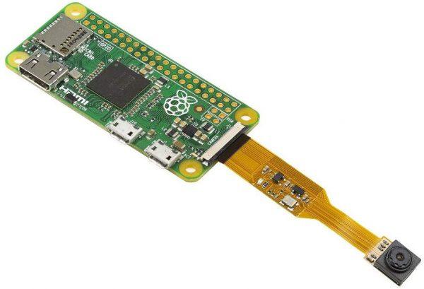 B006603 1-2 Arducam for Raspberry Pi Zero Camera Module, 1/4 Inch 5MP OV5647 Spy Camera with Flex Cable for Pi Zero and Pi Compute Module