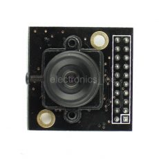 """Front look of 1/4"""" 3 Mega pixel M12 Mount OV3640 Camera Module with JPEG Output"""