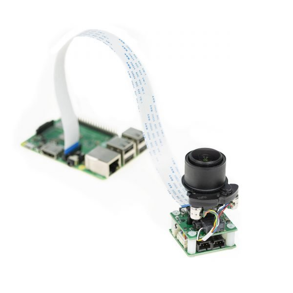 Arducam 5MP 1080p Pan Tilt Zoom PTZ Camera for Raspberry Pi 4/3B+/3 connects to Raspberry Pi
