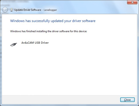 successfully install the driver