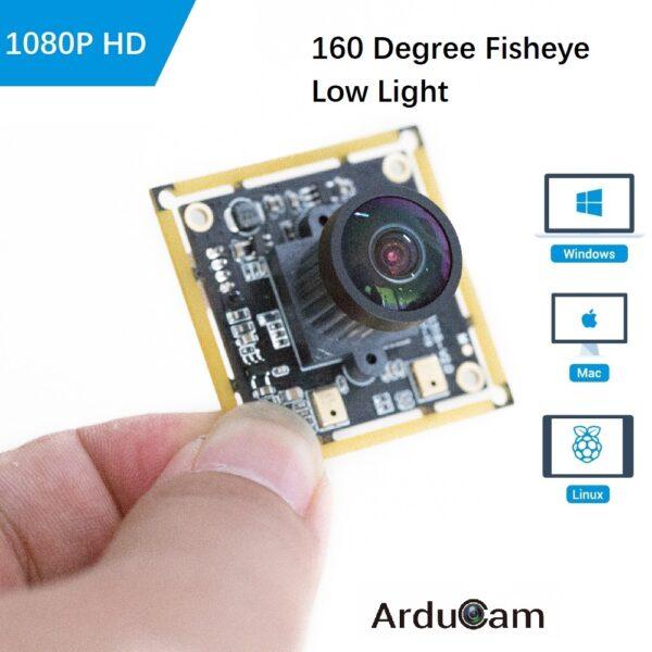 uvc camera wide angle fisheye low light