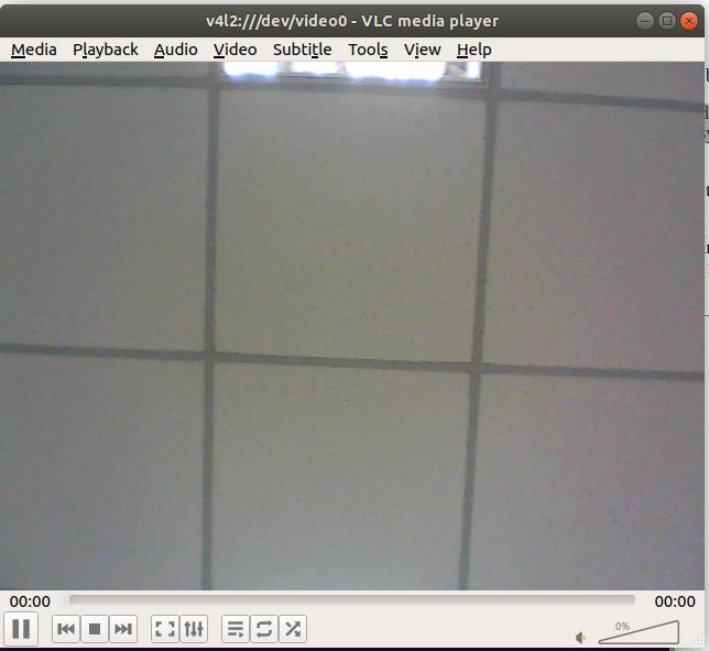 UVC vlc video feed