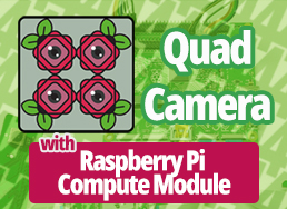 A Quad-Camera System with The Raspberry Pi Compute Module 3/3+