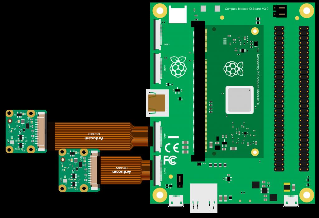 raspberry pi compute module mother board
