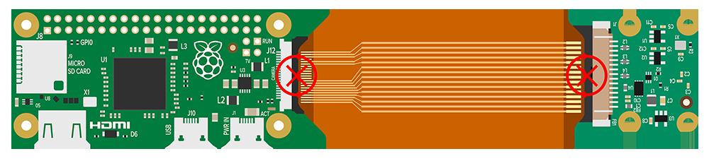 wrong connection pi zero