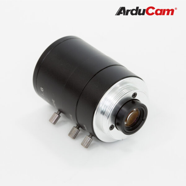 Arducam C Mount lens for High Quality Camera
