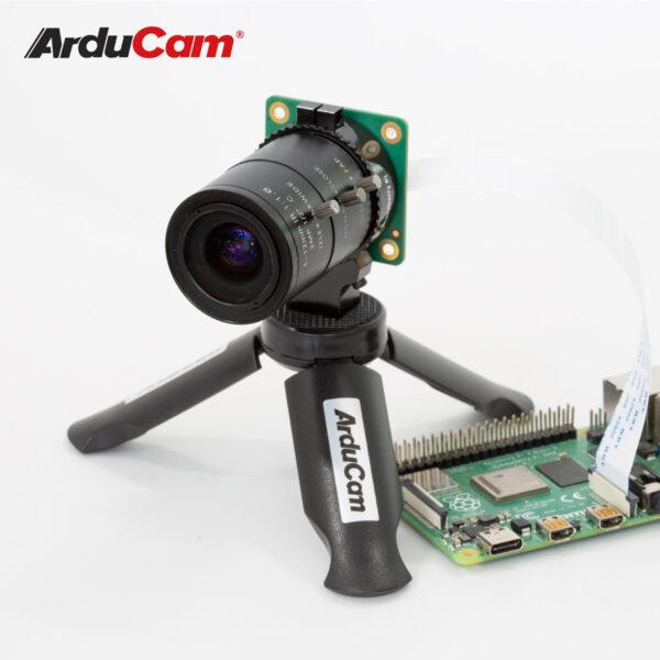 RPi 4 and High Quality camera using C mount lens