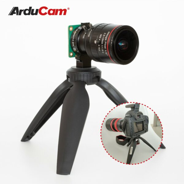 Raspberry Pi HQ Camera with An Arducam C mount lens