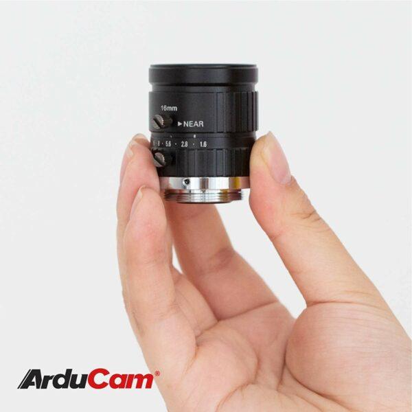arducam c mount 16mm lens ln045 6