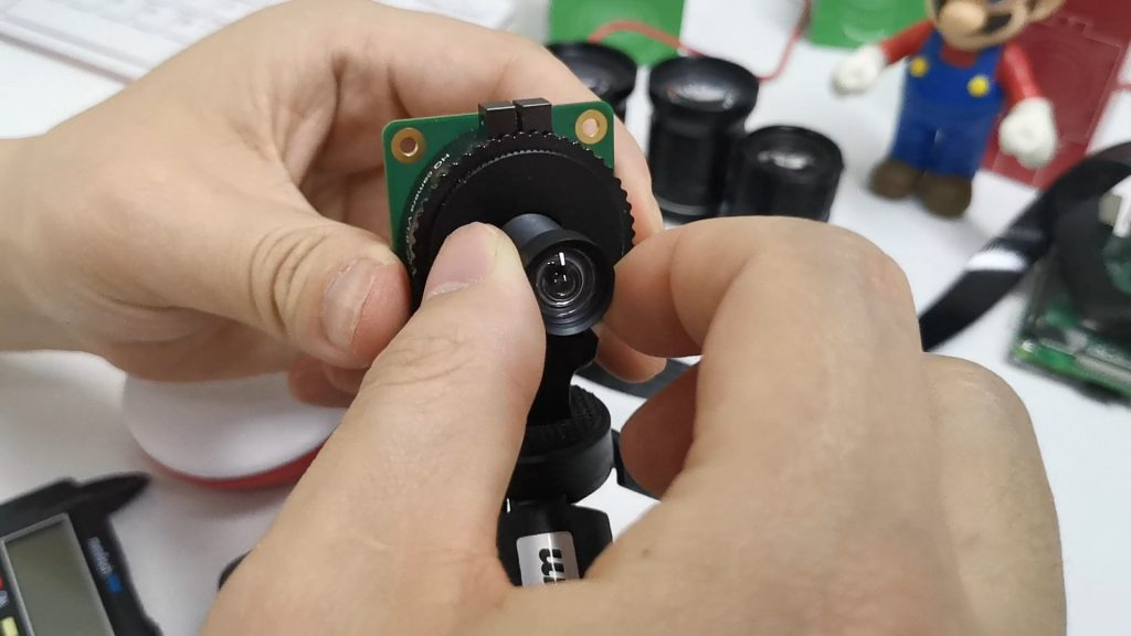 raspberry pi high quality camera cs m12 lens adapter