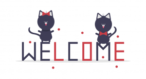 undraw welcome cats thqn