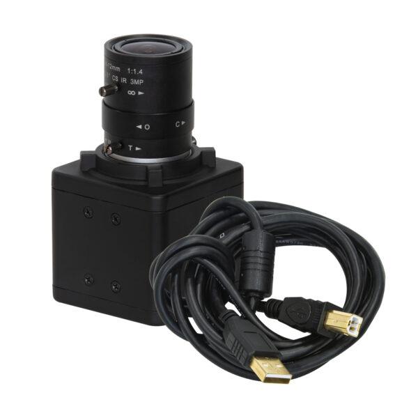 8MP varifocal USB camera