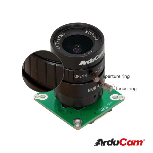 B0240 Arducam IMX477 HQ quality camera 6